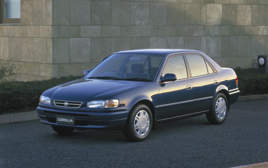Corolla 8ª geração – 1996 a 2002 (foto: divulgação Toyota)