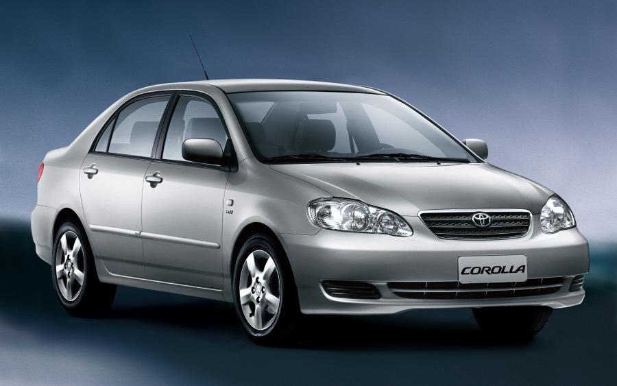 Corolla 9ª geração – 2003 a 2008 (foto: divulgação Toyota)