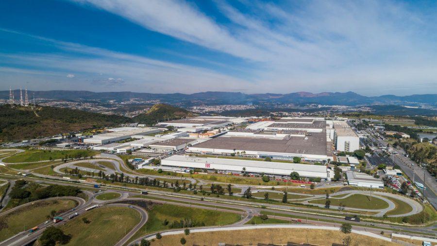 Foto aérea do Polo Automotivo Fiat (2020)
