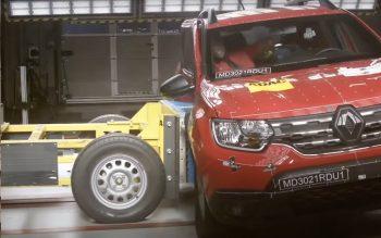 Renault Duster fez feio em teste de segurança da Latin NCAP