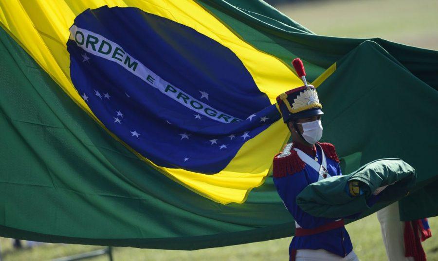 Cerimônia comemorativa do 7 de Setembro, no Palácio da Alvorada - © Marcelo Camargo/Agência Brasil