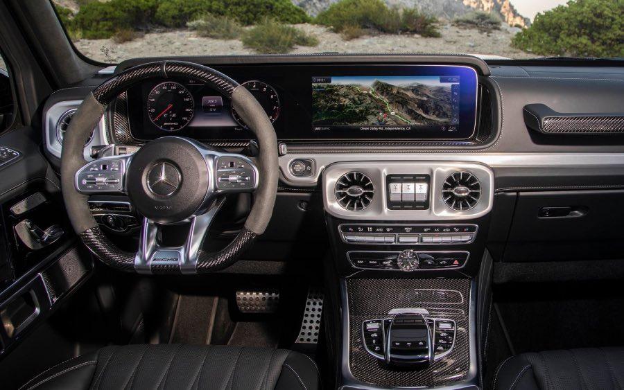 Mercedes-AMG G 63 ganha versão exclusiva para o Brasil (foto: divulgação)