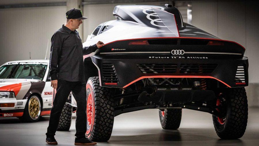Ken Block vai para a Audi