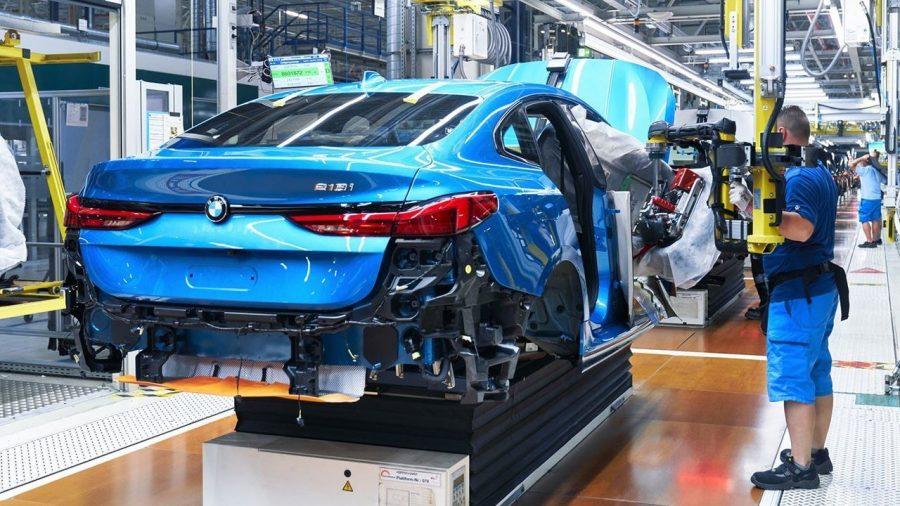Novo processo de pintura da BMW