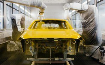 Conheça o novo processo de pintura da BMW