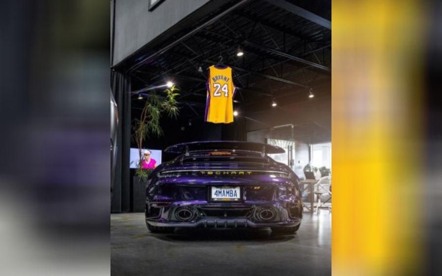 Em homenagem a Kobe Bryan, empresa customiza Porsche 911