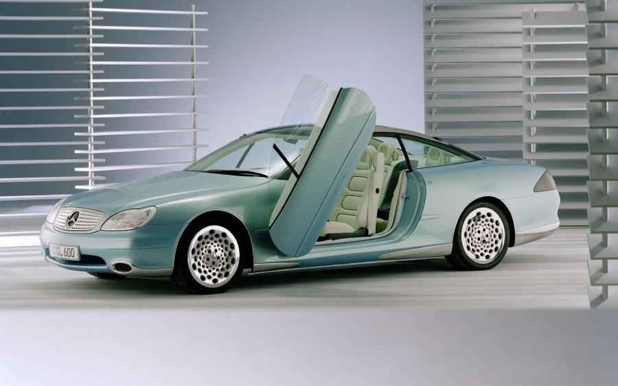 Mercedes F 200 Imagination é um carro do passado que revelava o futuro
